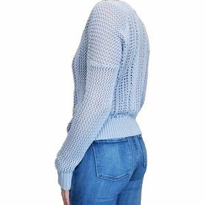 Volcom Light Blue Knit Crew Sweater